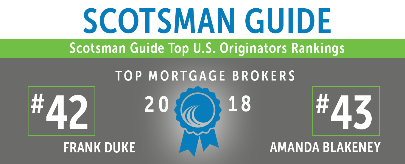 Scotsman Guide Top Mortgage Brokers 2018