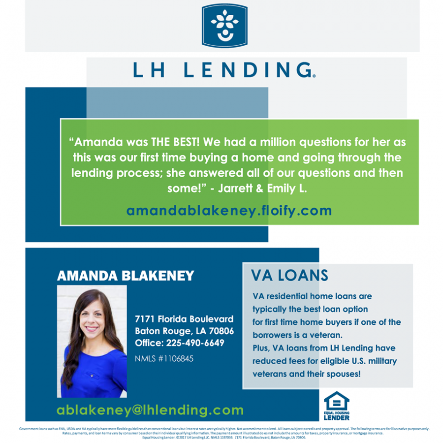 amanda blakeney loan officer va loan lh lending